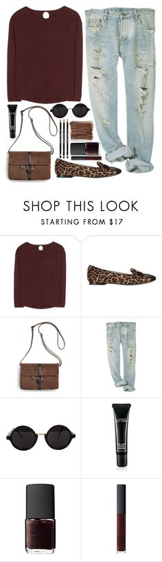 """The way you smile makes my heart flutter"" by steeniebean ❤ liked on Polyvore featuring Jardin des Orangers, Chiara Ferragni, Sperry, American Apparel, MAC Cosmetics and NARS Cosmetics"