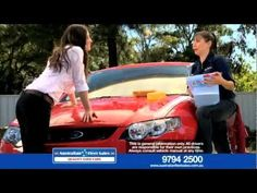 How To Wash A Car.  A good quality Car Wash Mitt is the best way to wash your car by hand!
