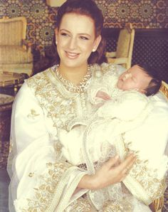 Miss Honoria Glossop:  Lalla Salma of Morocco with her daughter Lalla Khadija (born 28 February 2007)