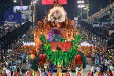Samba School Parade in Sambadrome - Rio de Janeiro, Brazil / UNIDOS DA TIJUCA