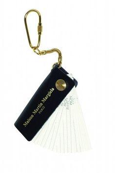 MAISON MARTIN MARGIELA key ring address book
