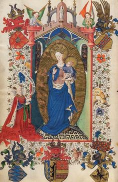 Stunningly beautiful Book of Hours at the Morgan Library & Museum in New York. Check the website to see all the pages. It is chock full of cool little demons!