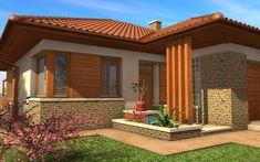 Japanese Interior Design, House With Porch, Fixer Upper, Facade, House Plans, Pergola, Sweet Home, New Homes, Farmhouse