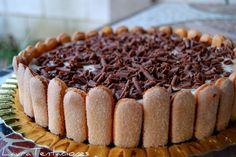 TENTACIONES: Tarta de capuccino al caramelo.