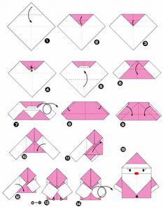 Christmas Origami Diagram Opel Corsa B Wiring 29 Best Crafty Images How To Make Crafts Bricolage Cool Ideas No Rastro Da Memoria Santa Rita Do Sapucai A Arte