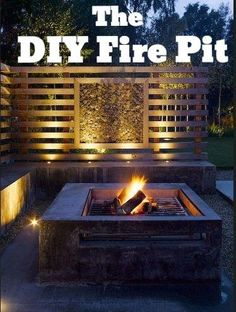 Build your own fire pit: The #DIY Guide