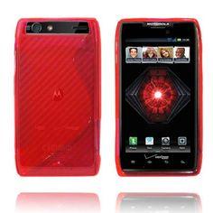 Transparent S-Line (Rød) Motorola Droid RAZR Maxx Deksel