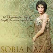Sobia Nazir Bridal Wear Dresses Collection 2015