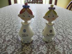 "Vintage ""Jolly Girls"" Salt Pepper Shakers Holt Howard Style Made in Japan | eBay"