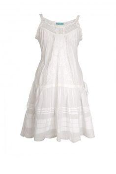 Las Dalias | Jurk Beautiful bohemian Ibiza dress @ www.gipsyibiza.nl