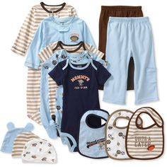 Child of Mine by Carter's - Newborn Boys' 13-Piece Essential Set
