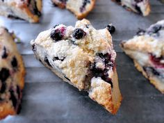 "another pinner said ""my favorite blueberry scone recipe easy easy"""