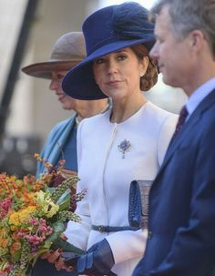 Princess Benedikte, CP Mary of Denmark, CP Frederik of Denmark attend the opening session of the Danish Parliament. October 4 2016