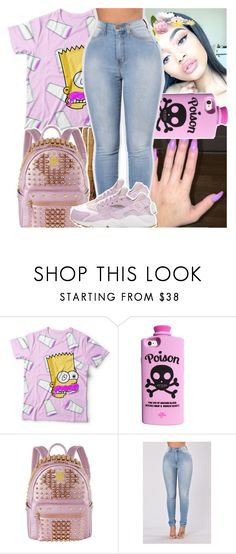 """""""last one for the night gn polyvore...."""" by daeethakidd ❤ liked on Polyvore featuring Valfré, MCM and NIKE"""
