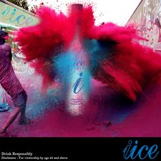 The Holi Explosion - Lets Paint the City with Colours!!!!  Wishing India a IICE-y Holi...