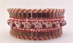 Looking for your next project? You're going to love Crimson Caravan Bracelet by designer Sweet Beads. - via @Craftsy