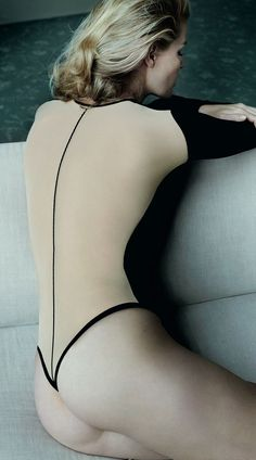 Mario Testino Shoots Caroline Winberg for Wolford 2014 Fall/Winter Lingerie Campaign ...