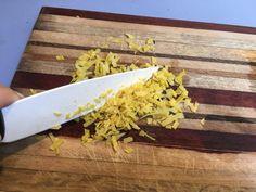 Tagliatelle al limone || Ricetta facile e veloce di amore e olio Butcher Block Cutting Board, Tagliatelle