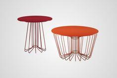 Tavolino Wire e SmallWire Zanotta