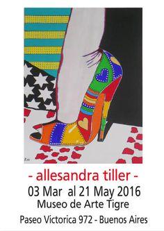 AllesandraTiller - Ausstellungsplakate - Dekorative Kunst für jeden Geldbeutel