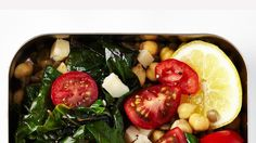 Lentils and Chickpeas with Greens Recipe | Bon Appetit