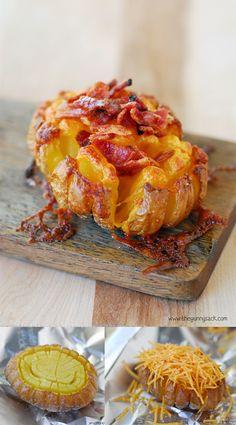 Ingeniosas patatas gratinadas / http://www.thegunnysack.com