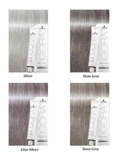 Scwarzkopf Igora Silver White – All About Hairstyles Schwarzkopf Igora Royal, Schwarzkopf Color, Silver White Hair, Silver Blonde, Grey Hair Dye, Dyed Hair, Hair Color Formulas, Hair Toner, Hair Color Techniques