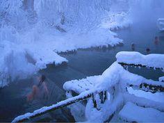 Liard River hőforrások - Kanada