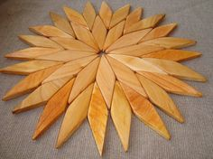 Wooden trivet by WoodenOKshop on Etsy