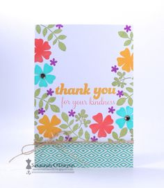Thank You by espbfdl - Cards and Paper Crafts at Splitcoaststampers