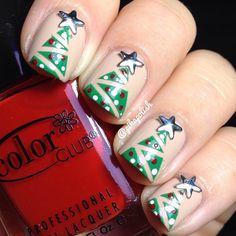 christmas by pikapolish #nail #nails #nailart