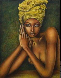 Sacha Baraz e suas pinturas ~ Mamá Africa African American Art, African Women, African Girl, African Children, Black Is Beautiful, Beautiful Artwork, Arte Black, Africa Art, Africa Painting