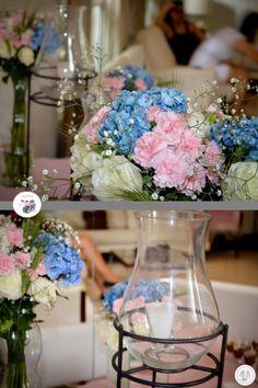 casamento azul rosa passarinho - Pesquisa Google
