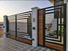 97 Ide Desain Pagar Ideas In 2021 Fence Design Gate Design Modern Fence Design