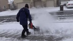 I Love Blowing Snow with My AIR JET SHOVEL Leaf Blower Snow Removal Leaf Blower, Shovel, Jet, How To Remove, Snow, Outdoor, Tools, Outdoors, Dustpan