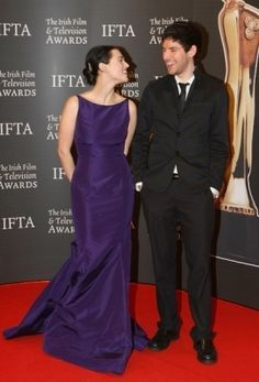Katie McGrath and Colin Morgan~~ and then you realize that they are dating and see these pics ...