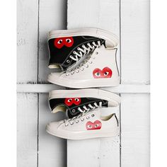 Comme des Gar?ons Play x Converse Restocked!