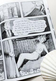 Seaside, graphic novel by Johanna Öst. Available on Etsy.