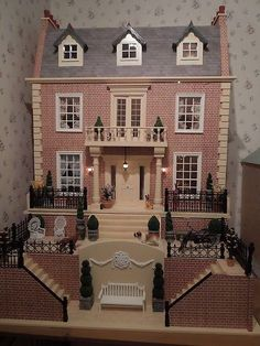Victorian Dolls House Furnished - Dolls House Emporium | eBay | Mary ...