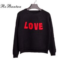 Rebantwa 2016 Short Knitted Sweater Women Winter O-neck Love Heart Print Christmas Sweaters and Pullover Irregular Loose Outwear //Price: $US $20.79 & Up to 18% Cashback on Orders. //     #fashion