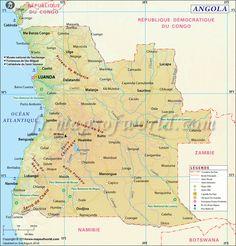 #Angola Carte