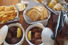 Zeus Street Greek has a menu that was quite simple and had a good mixture of salad, sides, dips and main dishes. They specialises in Pita dishes. Allrecipes, I Foods, Main Dishes, Dips, Food Ideas, Greek, Menu, Salad, Breakfast