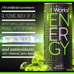 Our new #energy drink...available until 3:05 today only!! Text 502.851.7518 to get your healthy drink that's good for U too!!!