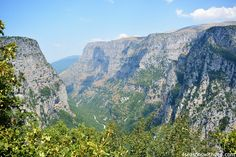 vikos aoos national park zagori greece