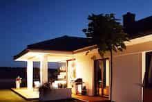 Dom w bodziszkach Bungalow House Design, Modern House Design, Design Case, Gazebo, Outdoor Structures, House Styles, Outdoor Decor, Home Decor, Projects