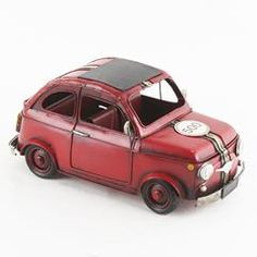 Metallic Minatures by Inart. Choose from a wide selection of mettalic minatures and choose the one according to your style. Beetle Car, Lead Acid Battery, Fiat 500, Beetles, Country Of Origin, Car Ins, Industrial Style, House Styles, Model Car