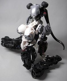 Reddit user IPlayWithFire shared these awesome Lego action figures in provocative poses. These feel like they should be filth, but are they? They do a wonderful job of representing the genre of fembots or gynoids present in anime and manga today. I'll file it under something awesome you can do with your Bionicle.