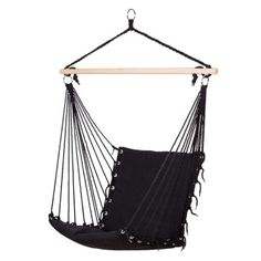 Hanging Chair Paded Black
