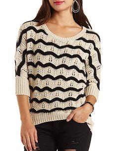 Fuzzy High-Low Dolman Sweater: Charlotte Russe #charlotterusse #charlottelook #fuzzy #highlow #dolman #sweater