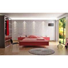 3D Root Design Plant Fiber Wall Panels (10 Panels Per Box) - Overstock™ Shopping - Top Rated Wall Paneling